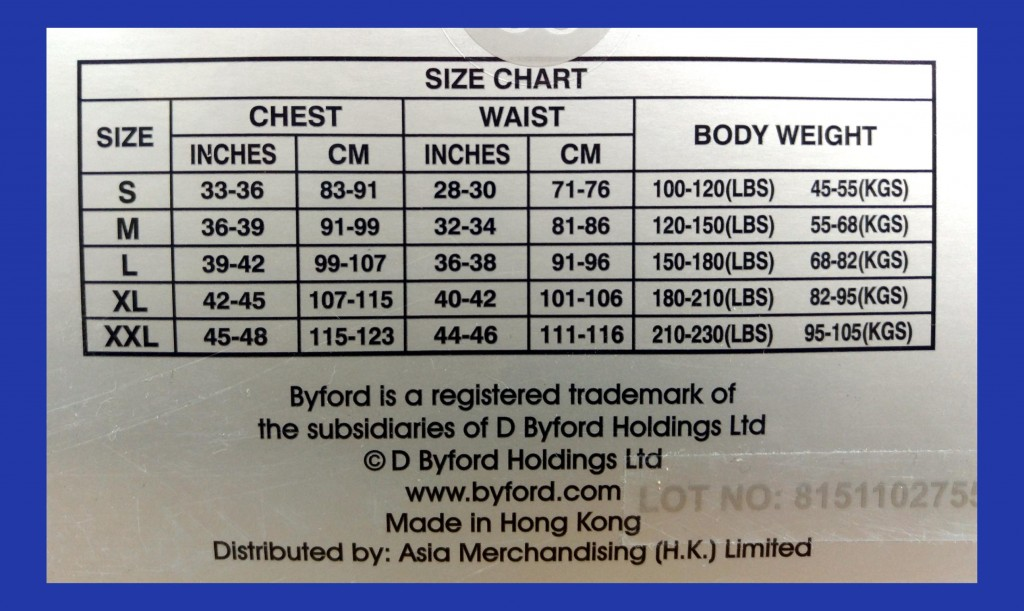 MW-904 sizechart